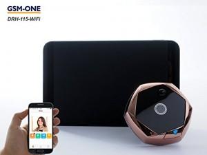 Testbericht Türspionkamera mit Wifi: GSM-One DRH-115-WIFI