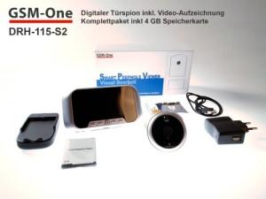 Testbericht GSM-One Türspionkamera mit Bewegungsmelder